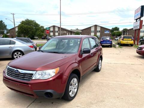 2009 Subaru Forester for sale at Car Gallery in Oklahoma City OK