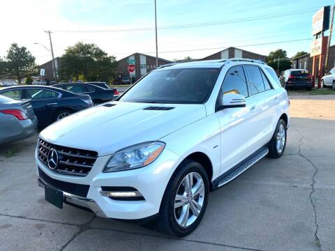 2012 Mercedes-Benz M-Class for sale at Car Gallery in Oklahoma City OK