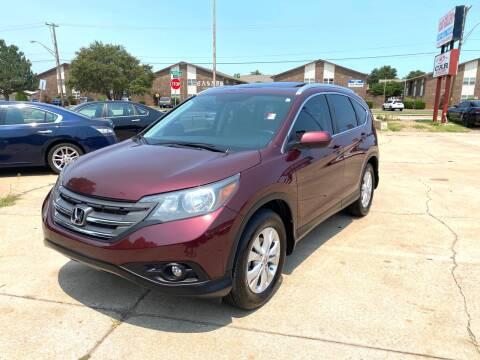 2013 Honda CR-V for sale at Car Gallery in Oklahoma City OK