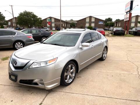 2009 Acura TL for sale at Car Gallery in Oklahoma City OK