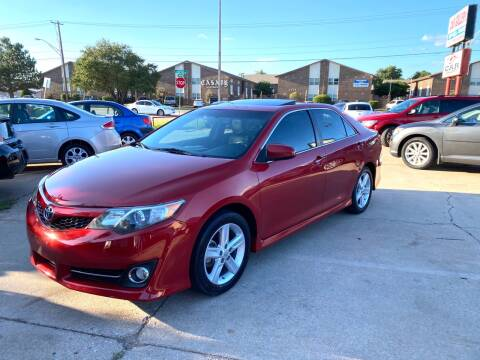 2012 Toyota Camry for sale at Car Gallery in Oklahoma City OK
