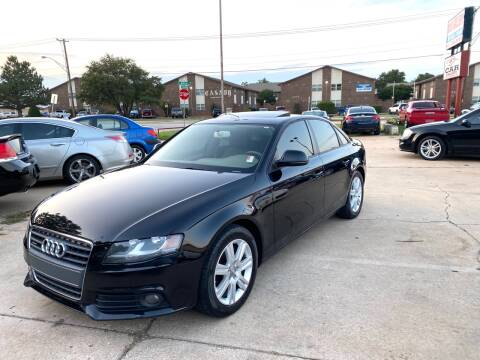 2009 Audi A4 for sale at Car Gallery in Oklahoma City OK