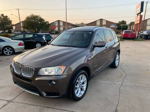 2011 BMW X3 for sale at Car Gallery in Oklahoma City OK