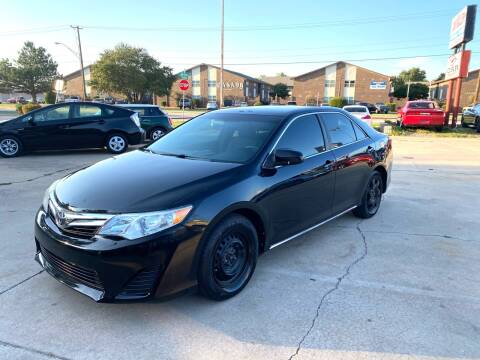 2013 Toyota Camry for sale at Car Gallery in Oklahoma City OK