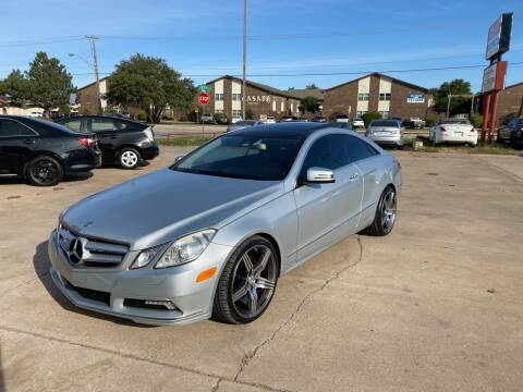 2010 Mercedes-Benz E-Class for sale at Car Gallery in Oklahoma City OK
