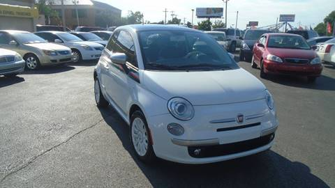 2012 FIAT 500 for sale at Car Gallery in Oklahoma City OK