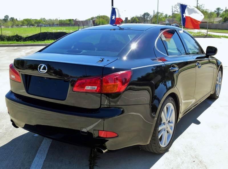 2006 lexus is 250 4dr sedan w automatic in houston tx tx enterprises. Black Bedroom Furniture Sets. Home Design Ideas