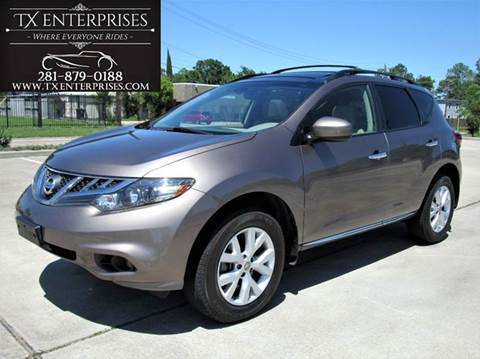 2012 Nissan Murano for sale in Houston, TX