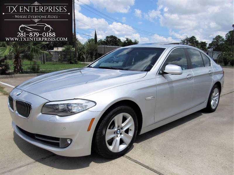 2011 bmw 5 series 528i 4dr sedan in houston tx tx enterprises. Black Bedroom Furniture Sets. Home Design Ideas