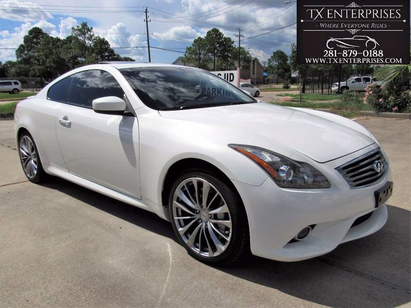 2011 infiniti g37 coupe journey 2dr coupe in houston tx. Black Bedroom Furniture Sets. Home Design Ideas