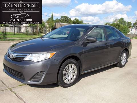 2012 Toyota Camry for sale in Houston, TX