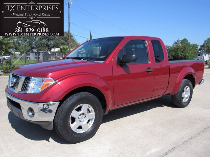2007 nissan frontier le 4dr king cab 6 1 ft sb in houston tx tx rh txenterprises com 2007 Nissan Frontier Specifications Frontier Owner's Manual