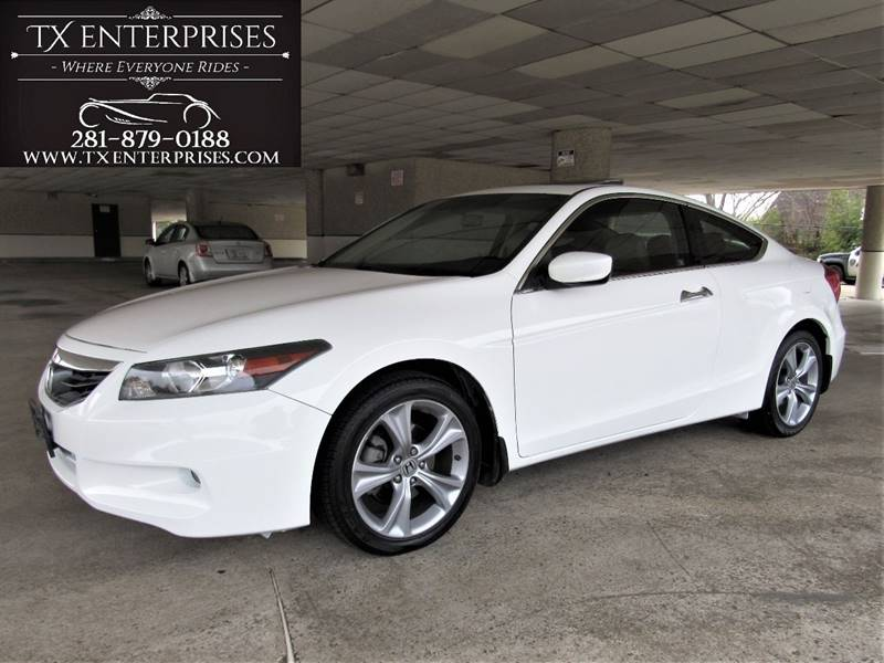 2012 honda accord ex l v6 2dr coupe 5a w navi in houston tx tx enterprises. Black Bedroom Furniture Sets. Home Design Ideas