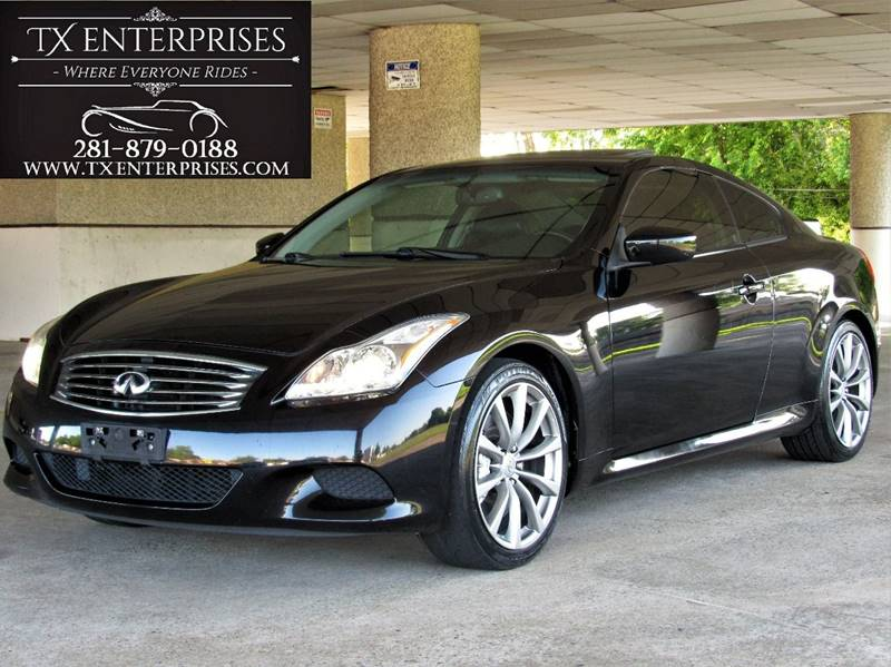 2010 Infiniti G37 Coupe Sport 2dr Coupe In Houston TX - TX Enterprises