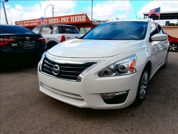 2015 Nissan Altima for sale in Hialeah, FL