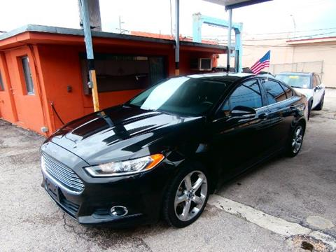 2013 Ford Fusion for sale in Hialeah, FL
