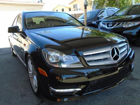 2012 mercedes benz c class for sale in hialeah fl for 2012 mercedes benz c class for sale