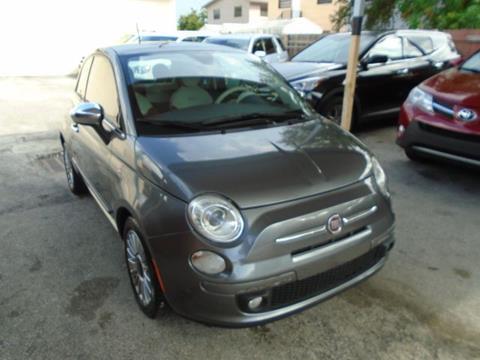 2012 FIAT 500 for sale in Hialeah, FL