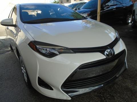 2017 Toyota Corolla for sale in Hialeah, FL