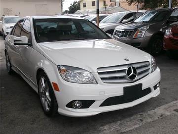 2010 Mercedes-Benz C-Class for sale in Hialeah, FL