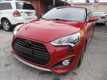 2013 Hyundai Veloster Turbo for sale in Hialeah, FL