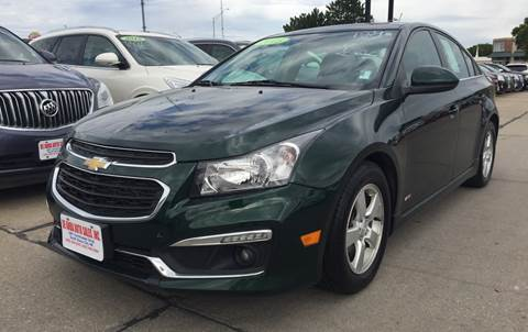 2015 Chevrolet Cruze for sale at De Anda Auto Sales in South Sioux City NE