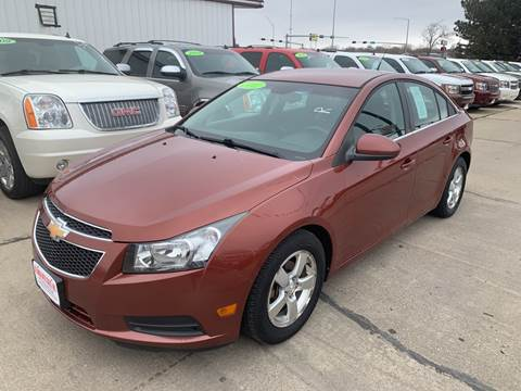 2012 Chevrolet Cruze for sale at De Anda Auto Sales in South Sioux City NE