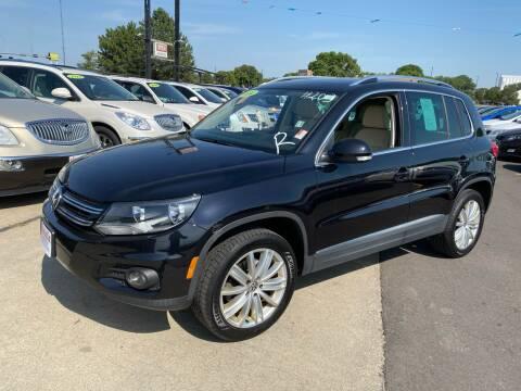 2014 Volkswagen Tiguan for sale at De Anda Auto Sales in South Sioux City NE