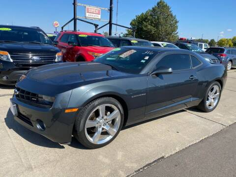 2013 Chevrolet Camaro for sale at De Anda Auto Sales in South Sioux City NE