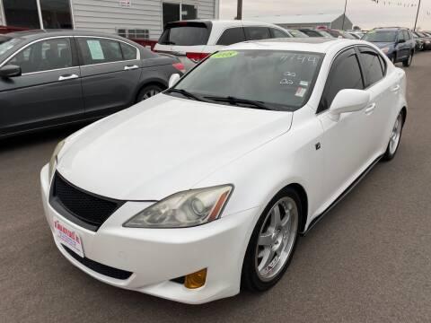 2008 Lexus IS 250 for sale at De Anda Auto Sales in South Sioux City NE