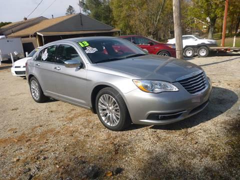 2013 Chrysler 200 for sale in Minerva, OH