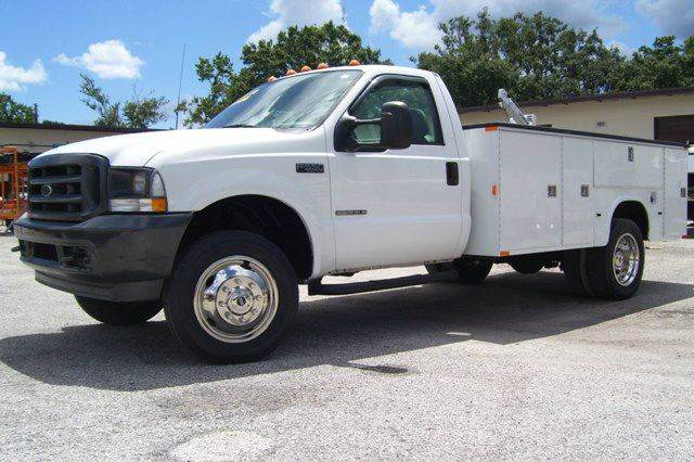 2002 Ford F550   4X4 for sale at buzzell Truck & Equipment in Orlando FL