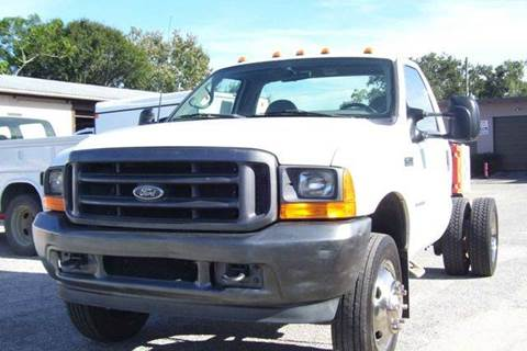 2001 Ford F450  SUPER DUTY DIESEL for sale at buzzell Truck & Equipment in Orlando FL