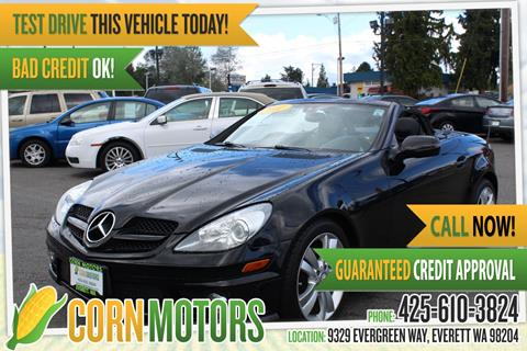 2011 Mercedes-Benz SLK for sale in Everett, WA