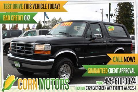 1995 Ford Bronco for sale in Everett, WA