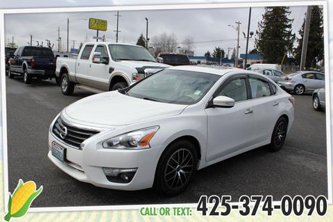 2013 Nissan Altima for sale in Everett, WA