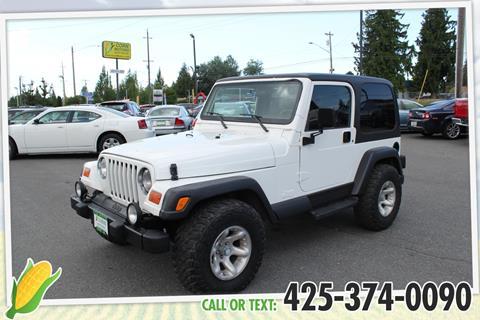 2000 Jeep Wrangler for sale in Everett, WA