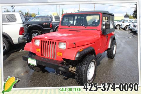 1995 Jeep Wrangler for sale in Everett, WA