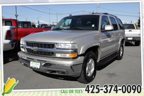 2004 Chevrolet Tahoe for sale in Everett, WA