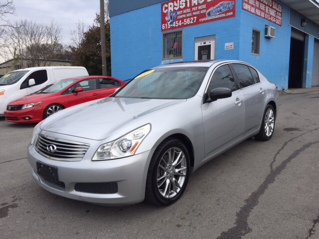 Wonderful 2007 Infiniti G35 Base 4dr Sedan (3.5L V6 5A)   Nashville TN