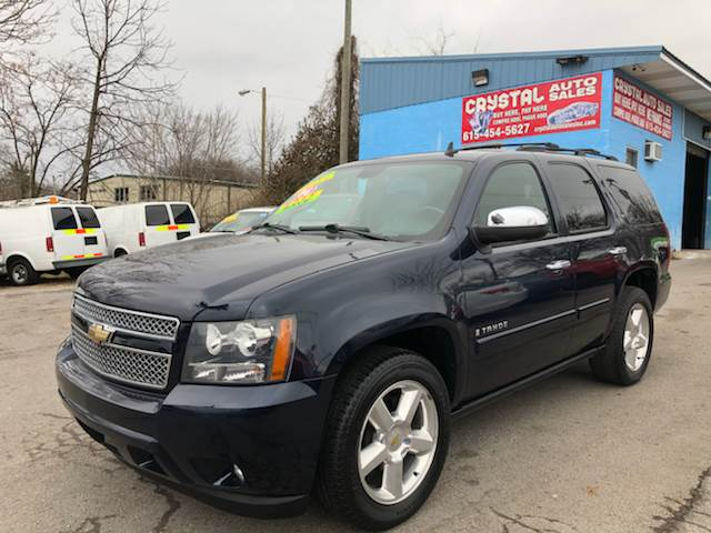 2008 Chevrolet Tahoe for sale at Crystal Auto Sales Inc in Nashville TN