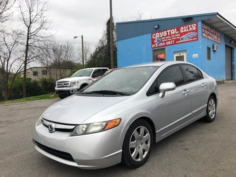 Honda Used Cars Financing For Sale Nashville Crystal Auto Sales Inc