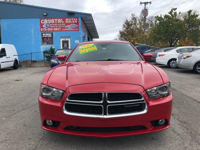 2011 Dodge Charger R T Road And Track 4dr Sedan In Nashville Tn