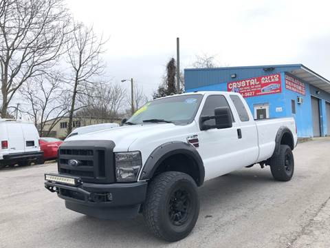 2008 Ford F-250 Super Duty for sale at Crystal Auto Sales Inc in Nashville TN