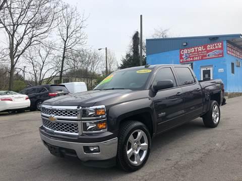 2015 Chevrolet Silverado 1500 for sale at Crystal Auto Sales Inc in Nashville TN