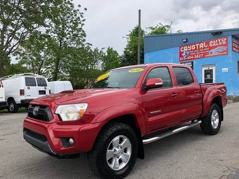 2012 Toyota Tacoma for sale at Crystal Auto Sales Inc in Nashville TN