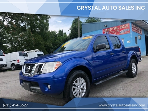 2014 Nissan Frontier for sale at Crystal Auto Sales Inc in Nashville TN