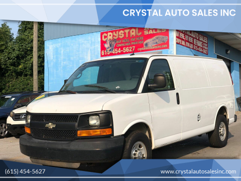 2015 Chevrolet Express Cargo for sale at Crystal Auto Sales Inc in Nashville TN
