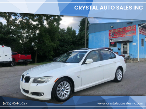 2009 BMW 3 Series for sale at Crystal Auto Sales Inc in Nashville TN