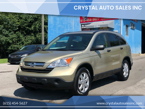 2008 Honda CR-V for sale at Crystal Auto Sales Inc in Nashville TN